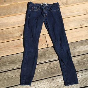 Blue Hollister Skinny Jeans